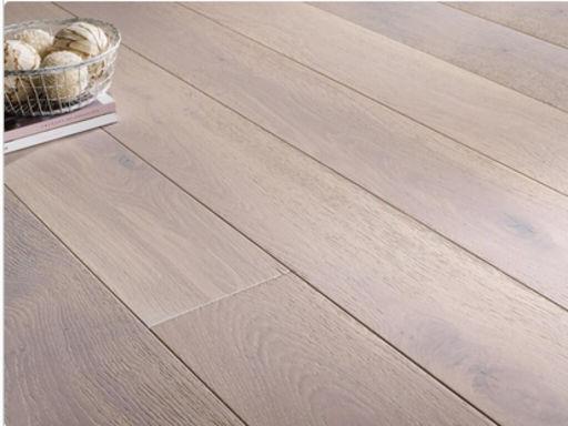Chene Engineered Oak Flooring, Rustic, White Oiled, 150x3x14 mm
