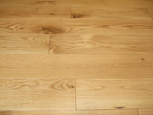 Elka Solid Oak Wood Flooring, Rustic, Lacquered, 130x18 mm