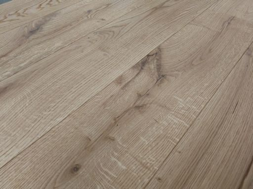Tradition Engineered Oak Flooring, Rustic, Brushed, Oiled, 190x14x1900 mm