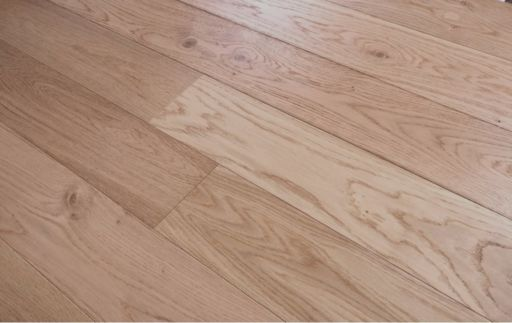 Tradition Oak Engineered Flooring, Natural, Brushed Lacquered, 1200x10x127 mm