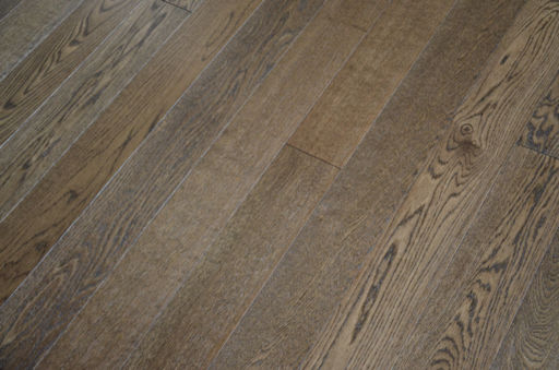 Tradition Smoky Oak Engineered Flooring, Rustic, Brushed Lacquered, 1200x10x127 mm